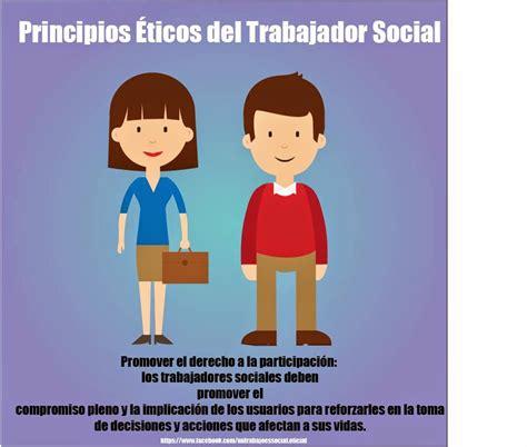 MI TRABAJO ES SOCIAL: Principios Éticos del Trabajador ...