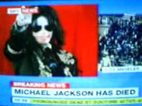 Michael Jackson Death Sky News   YouTube