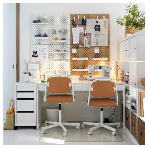 MICKE Cajonera con ruedas, blanco, 35x75 cm   IKEA en 2020 ...