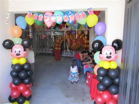 MICKEY MOUSE DECORACION FIESTAS INFANTILES   Fiestas ...