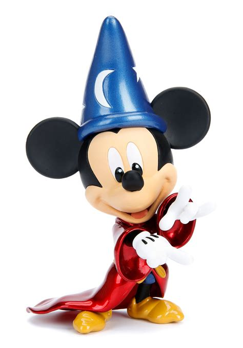 Mickey Mouse Fantasia Sorcerer 6  Metal Figure