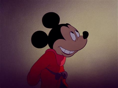 Mickey Mouse in Fantasia starring in the segment ...