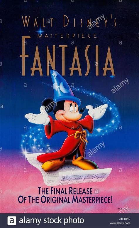 MICKEY MOUSE POSTER FANTASIA  1940 Stock Photo: 152752843 ...