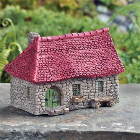 Micro Mini Red Roof Farmhouse, Fairy House, Fairy Farm ...