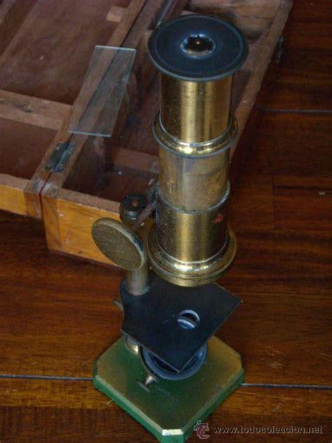 microscopio triquinoscopio con caja madera, est   Comprar ...