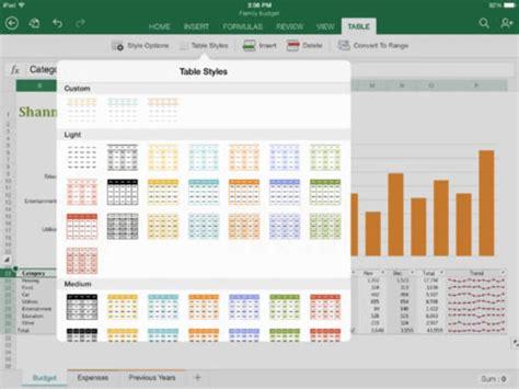Microsoft Excel para iPhone   Descargar