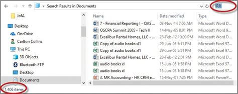 Microsoft Windows: How to best name and search for files ...