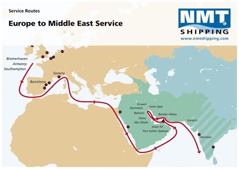 Middle East | NMT Shipping — your global Ro/Ro specialist
