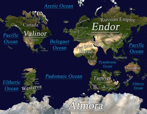 Midgard   A Fantasy World Map by tomme23 on DeviantArt ...