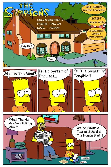 Mike L s Examples of Work: Simpson Fan Comic Act 1
