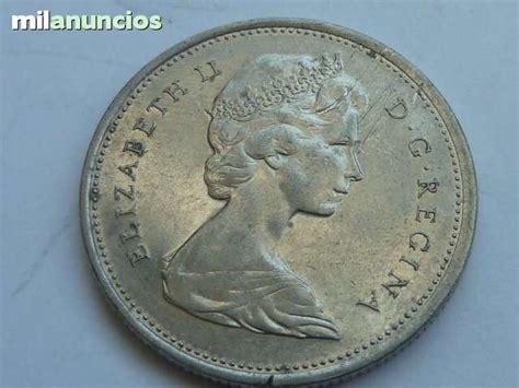 MIL ANUNCIOS.COM   25 centavos de dolar Canada de 1968