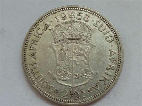 MIL ANUNCIOS.COM   2,5 Chelines Sudafrica 1958 plata