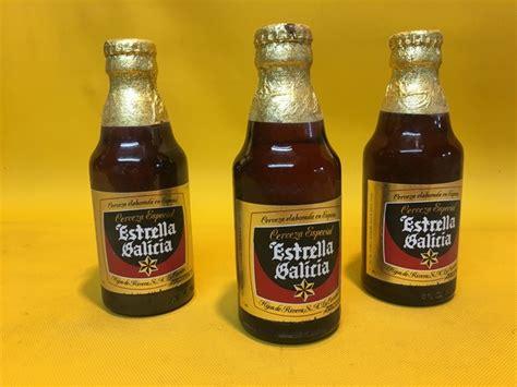 MIL ANUNCIOS.COM   Botellin Estrella Galicia 17,5cl año1990