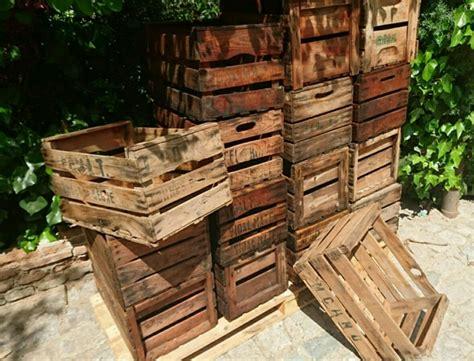 MIL ANUNCIOS.COM   Cajas de fruta de madera antigua