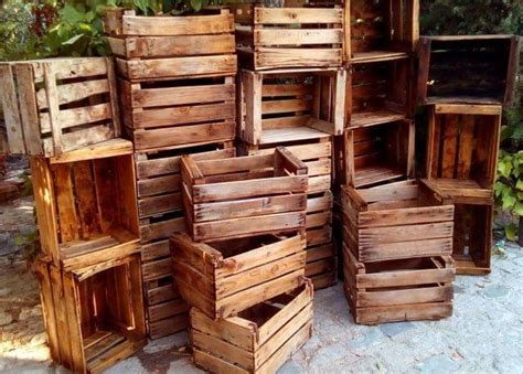 MIL ANUNCIOS.COM   Cajas de madera de fruta antigua