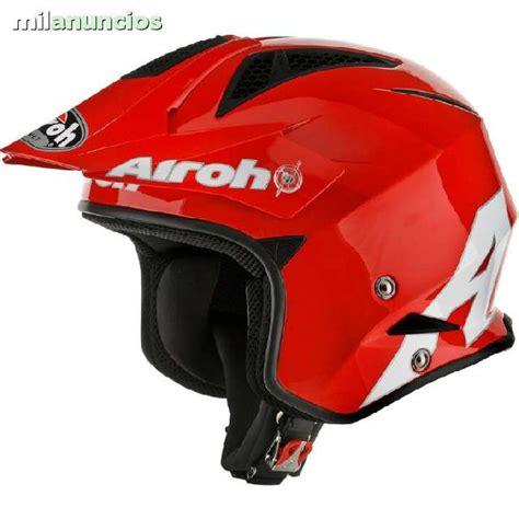MIL ANUNCIOS.COM   Casco trial airoh trr steel rojo