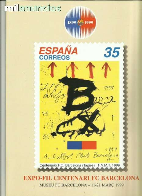 MIL ANUNCIOS.COM   F.c.barcelona sellos centenario