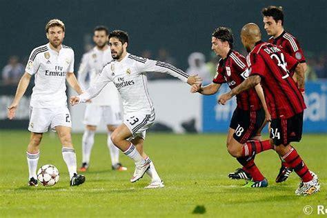 Milan golea 4 2 al Real Madrid en partido amistoso ...