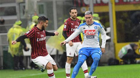 Milan – Napoli  1 1 : Resumen del partido y goles   AS México