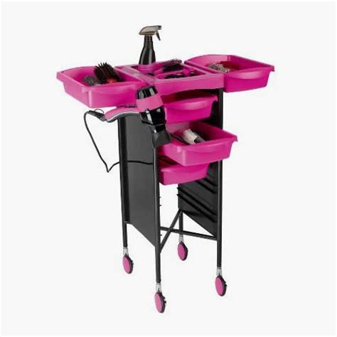 Milano Trolley Black and Pink in 2020 | Salon furniture ...