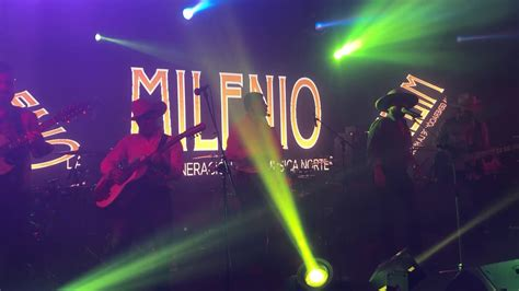 MILENIO Live from EL RODEO DISCO   YouTube