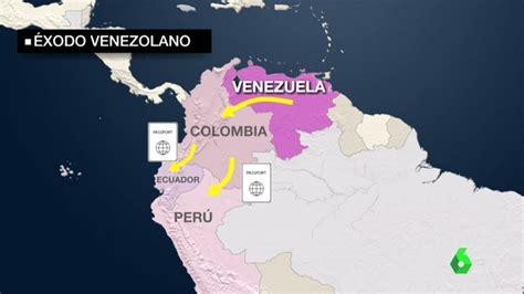 Miles de venezolanos huyen del país a causa del cambio de ...