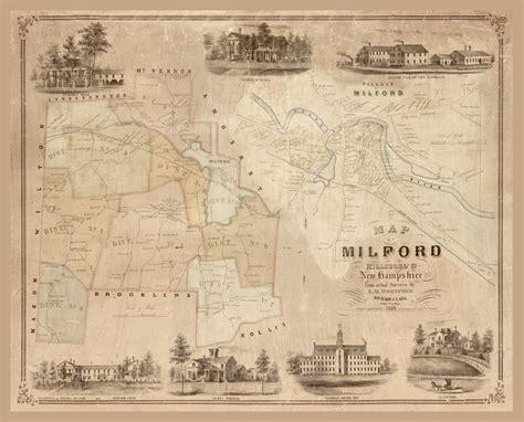 Milford New Hampshire   Clark 1854   28.52 x 23   Walmart ...