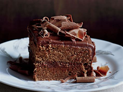 Milk Chocolate Frosted Layer Cake Recipe   Karina Gowing ...