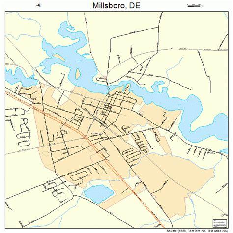 Millsboro Delaware Street Map 1047940