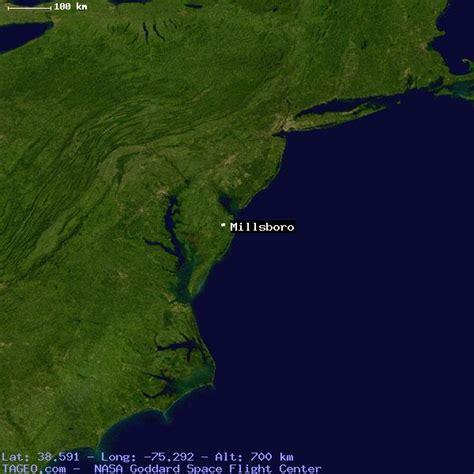 MILLSBORO DELAWARE UNITED STATES Geography Population Map ...