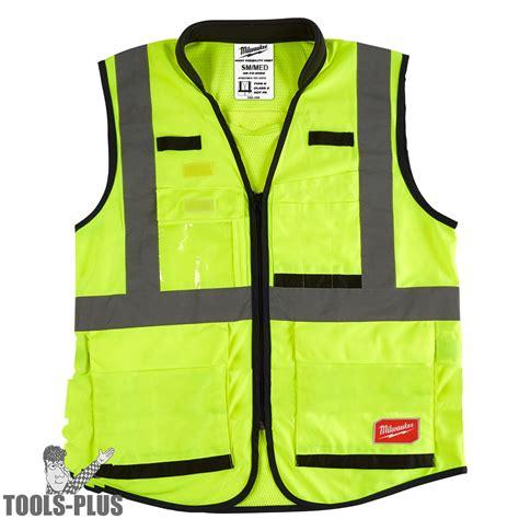 Milwaukee 48 73 5081 High Vis Yellow Performance Safety ...