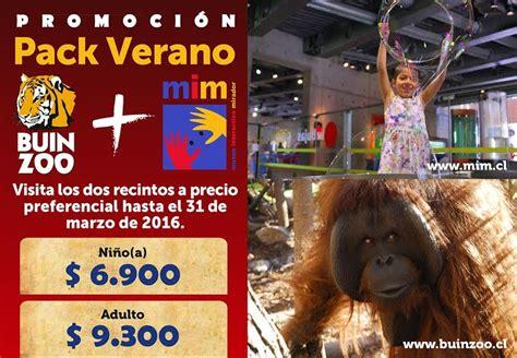 MIM y Buin Zoo lanzan promoción veraniega   Dato Express