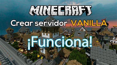 Minecraft 1.10 / 1.11.2 | Como Crear un Servidor Vanilla ...