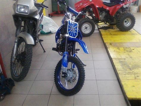 Mini Moto cross 125 cm3 HITNO!, 2009 god.