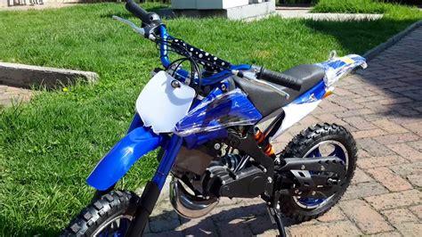 Mini Moto Cross Gasolina 49 cc 2 Tiempo Encendido ...