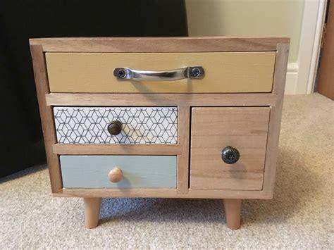 Mini wooden drawers/storage/jewellery box   in Cottingham ...