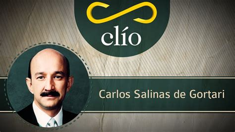 Minibiografía: Carlos Salinas de Gortari   YouTube