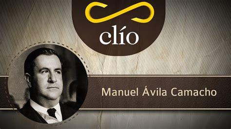 Minibiografía: Manuel Ávila Camacho   YouTube