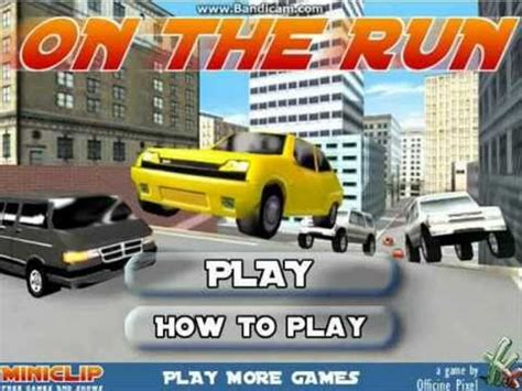 MiniClip On the Run WalkThrough With Commentary   YouTube