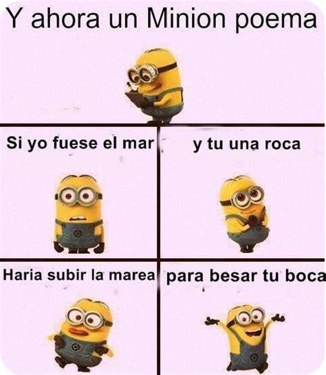 Minion poema | Poemas graciosos, Poemas divertidos, Memes ...