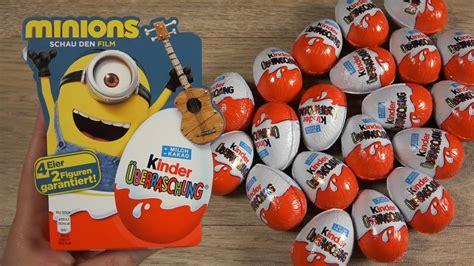 MINIONS   Kinder Surprise Egg   MEGA UNBOXING   NEW Series ...