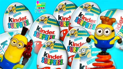Minions Kinder Surprise Eggs   Can we get the complete ...