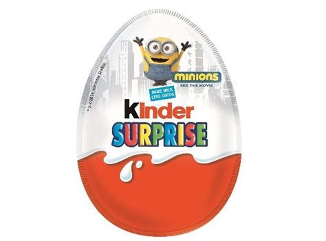 Minions Kinder Surprise eggs set to invade stores