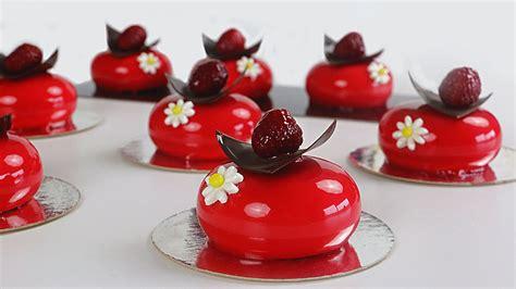 Minis cheesecake de chocolate blanco y jalea de frambuesa ...