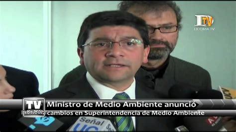 Ministro Medio Ambiente anunció cambios en ...