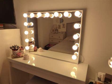 Miroir Deluxe très grand hollywood éclairé par ...