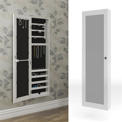 mirrored cabinet jewellery cabinet wall white wall cabinet ...