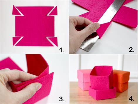 Mis manualidades: Cómo hacer una caja de fieltro