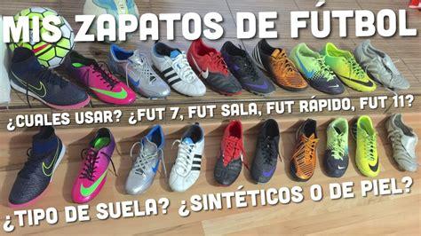 Mis zapatos de fútbol | ¿Cuales usar en cada tipo de ...