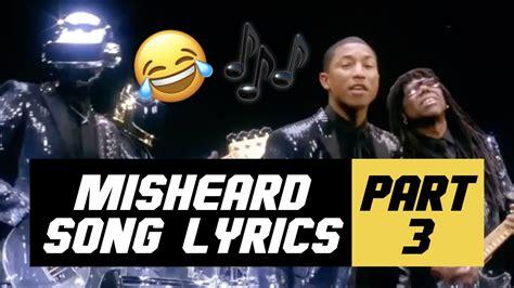 Misheard Song Lyrics   PART 3   YouTube